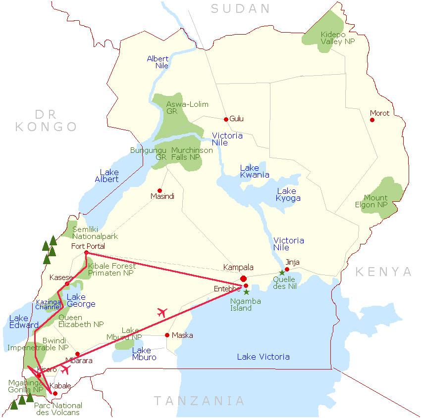 Die ULTIMATIVE Uganda Fotoreise